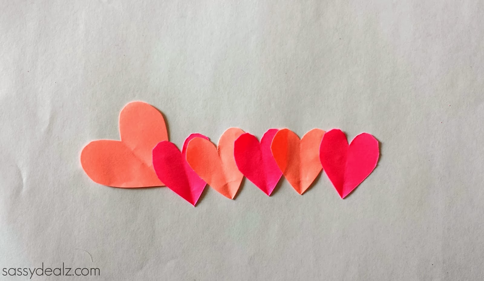 Valentine S Day Heart Caterpillar Craft For Kids