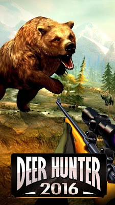 is a most popular action game for all android devices DEER HUNTER 2016 MOD APK FREE DOWNLOAD
