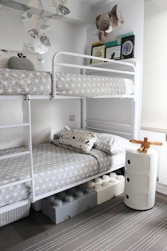 Amueblar una habitación infantil compartida