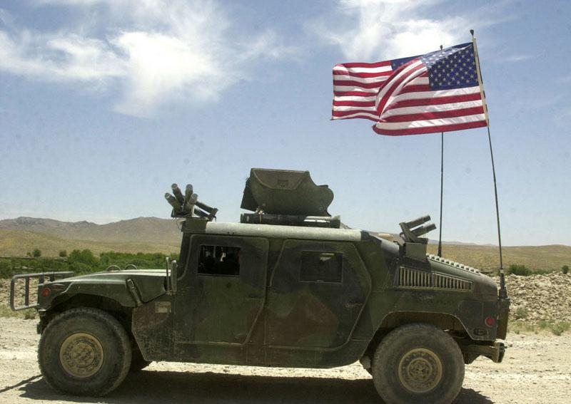 Hummer Humvee Military Vehicle 2003