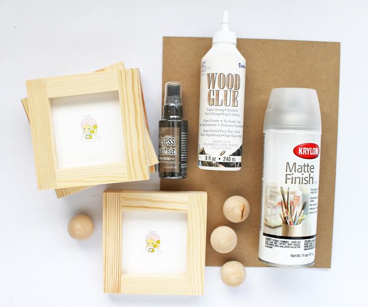 Wood Desktop Organizer DIY
