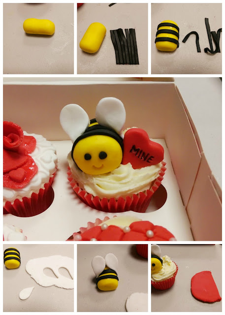 Bee Mine Cupcake Tutorial