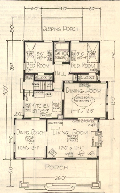sears bandon floor plan