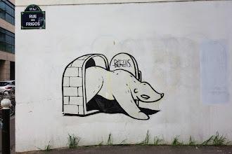 Sunday Street Art : Beerens - rue des Frigos - Paris 13