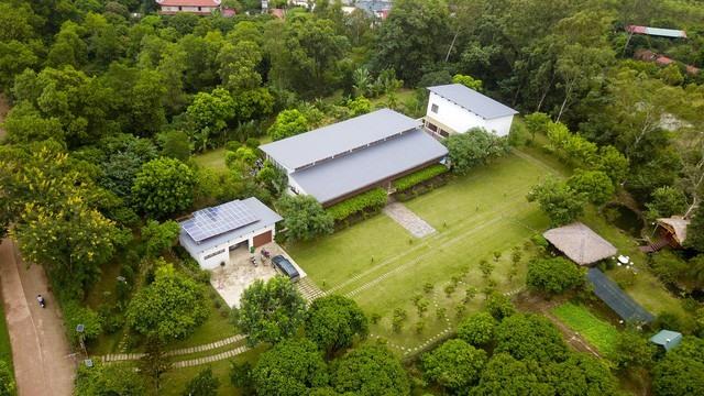 Một khu dinh cơ ở xã Minh Phú huyện Sóc Sơn