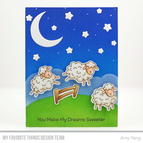 Handmade card by Amy Yang featuring products from My Favorite Things #mftstamps