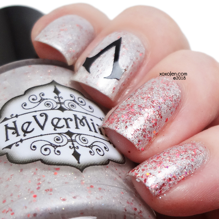 xoxoJen's swatch of NeVerMind Polish To Serve the Light