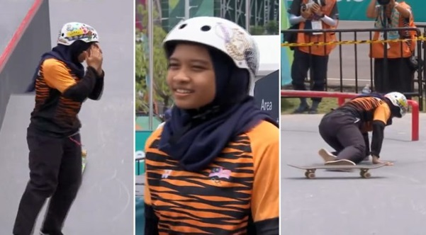 Atlet skateboard padam semua gambar IG selepas dicemuh netizen