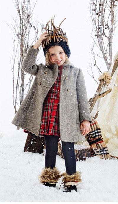 Tapados invierno 2017 para nenas. Moda infantil invierno 2017.