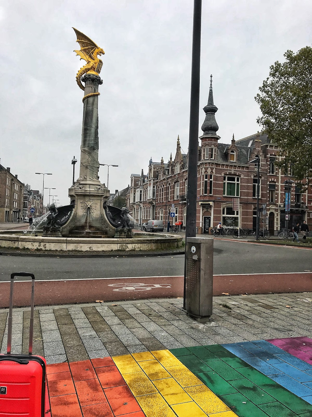 Colourful unique streets of Den Bosch