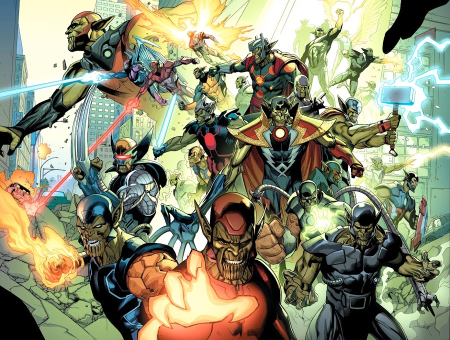marvel skrull invasion