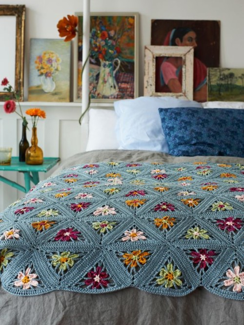 Triangle Blanket - Free Pattern