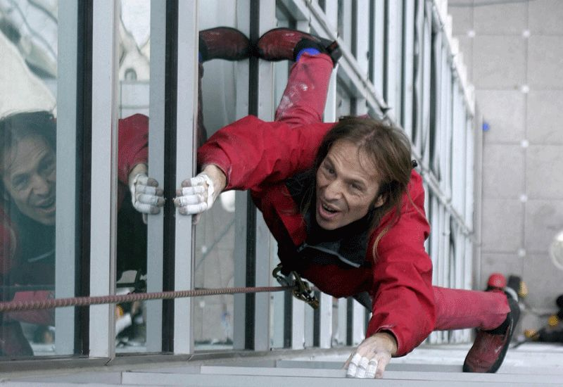 Alain Robert the real spider-man