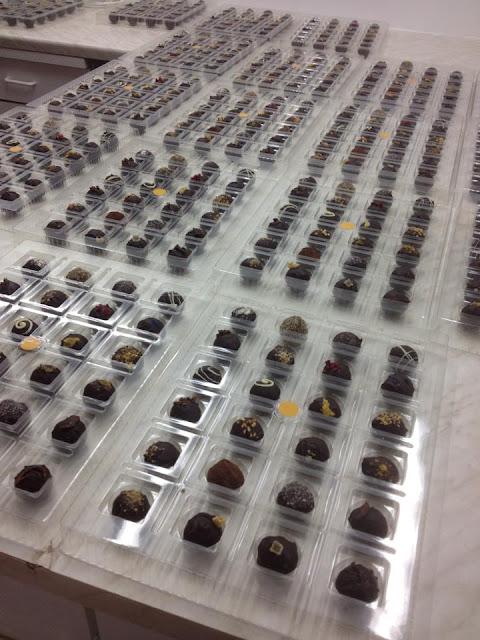 Adventskalender mit Schokoladenmund Trueffel