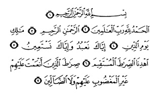 Asbabun Nuzul Surah Al-Fatihah