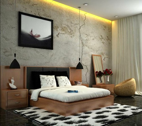 Bedroom Light Fixtures Ideas: 33 Cool Ideas For LED Ceiling Lights And Wall Lighting