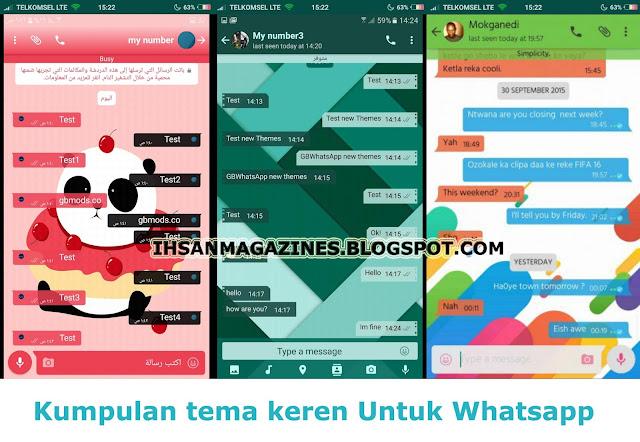 Download Tema Whatsapp Terbaru Paling Keren Gratis