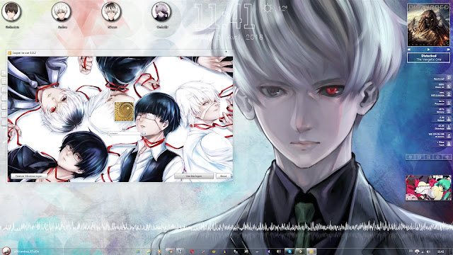 Tokyo Ghoul:re Theme Win 7 by Andrea_37