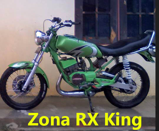 Warna Airbrush RX King Hijau