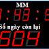 Đồng hồ đếm ngược ngày chuẩn - 3 số