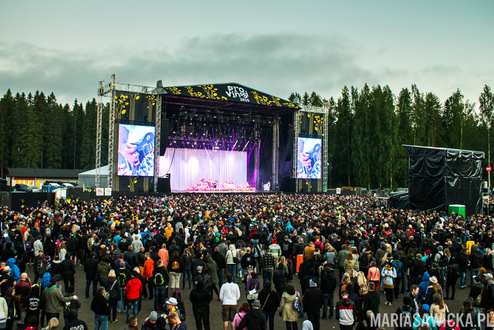 Faith No More Provinssi Festivaali 2015 Seinäjoki ferris wheel