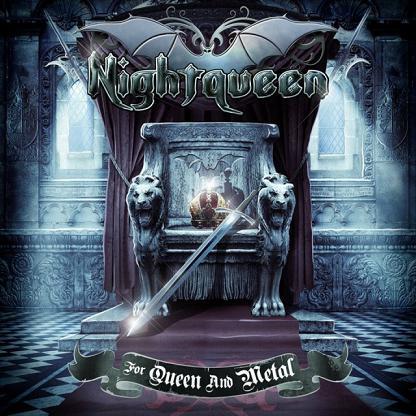 """Ακούστε τον δίσκο των Nightqueen """"For Queen and Metal"""""""