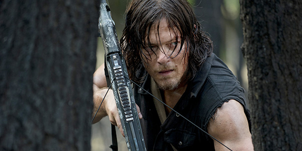 Daryl en el 6x06 de 'The Walking Dead'