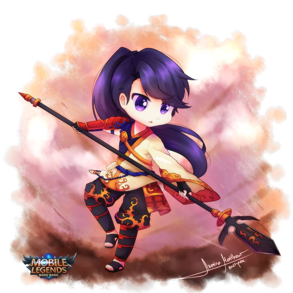 50 Fan Art Chibi/Imut Lucu HD Mobile Legends