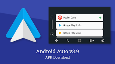 Android Auto Google Maps - Media & Messaging Android APK for