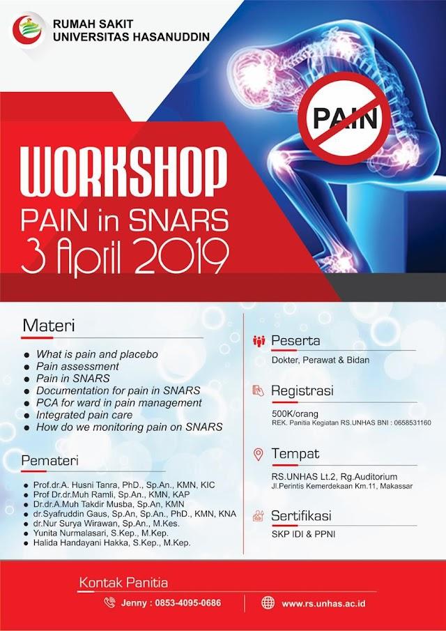 Workshop PAIN in SNARS 3 April 2019 Makassar (SKP IDI)