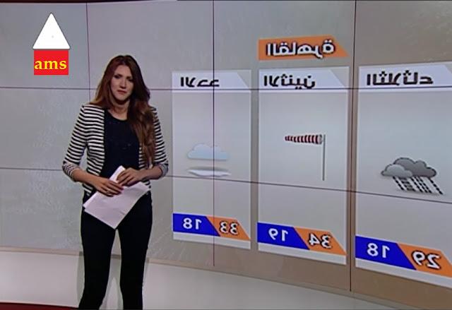 """نهي محمود درجات الحرارة و الطقس المتوقع اليوم """"الاحــد"""" 30 ابريل 2017 والثلاثة ايام القادمة"""