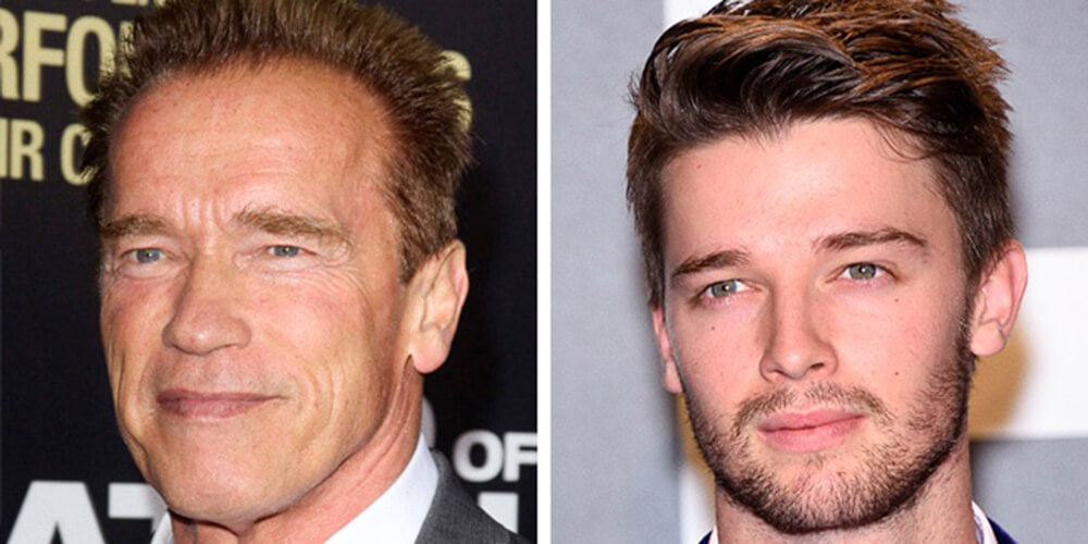 Arnold Schwarzenegger e Patrick Schwarzenegger