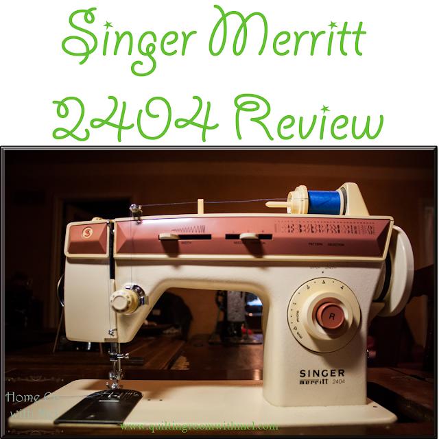 singer merritt 2404