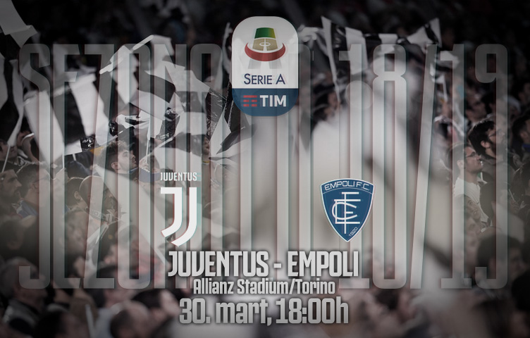 Serie A 2018/19 / 29. kolo / Juventus - Empoli, subota, 18:00h