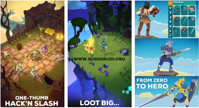 Download Game The Mighty Quest for Epic Loot Full Apk Terbaru