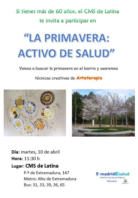 La primavera: activo de salud