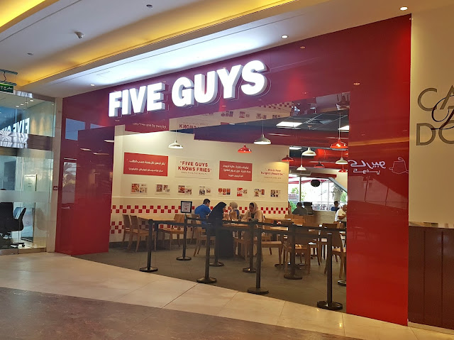 Five Guys, Al Tijaria Tower, Kuwait
