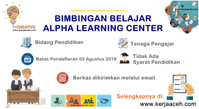 Lowongan kerja aceh terbaru tenaga pengajar Bimbel di Banda Aceh