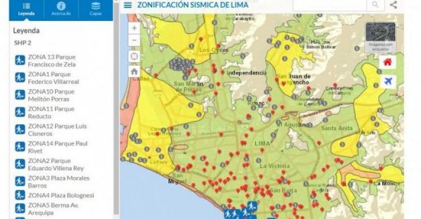 UNMSM: Estudiantes de la Universidad San Marcos crean mapa para identificar zonas seguras ante desastres
