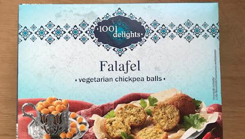 Falafel mrożony, Lidl