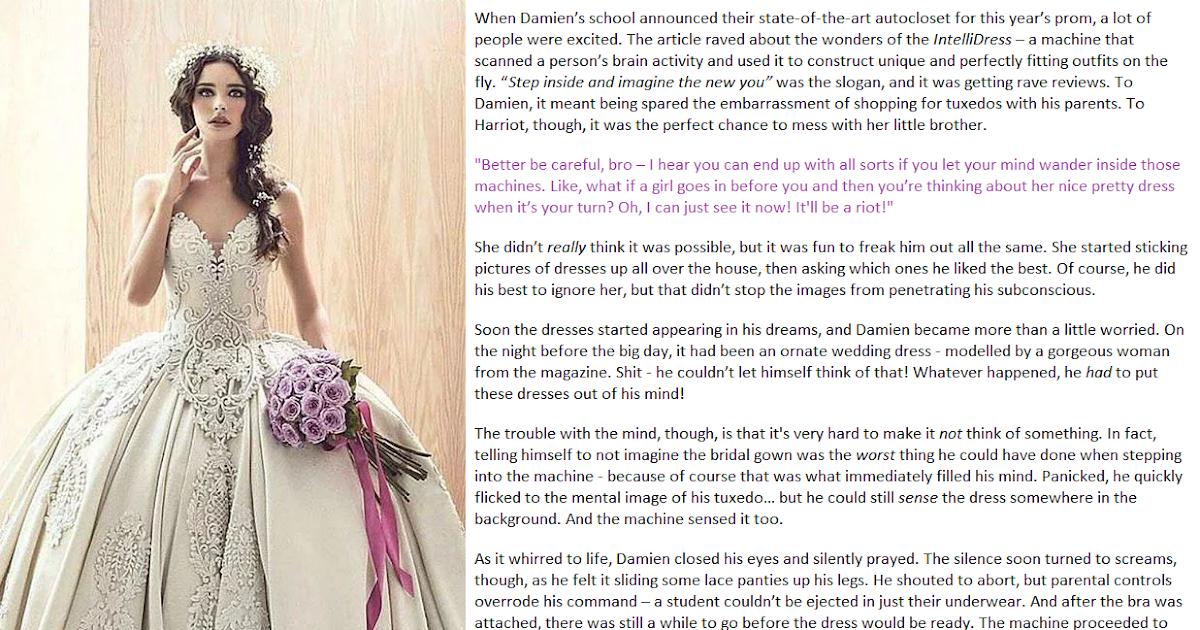 Crossdressing incest stories