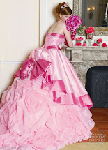 Autumn Wedding Girly Pink And Gold Fairytale