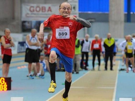 Super Peppe tienen 101 años y gana 3 medallas de oro