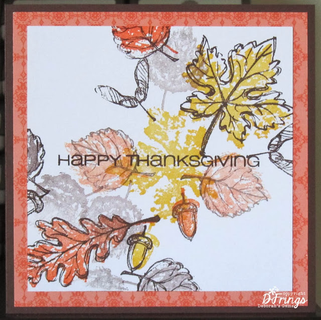 Happy Thanksgiving - Photo by Deborah Frings - Deborah's Gems
