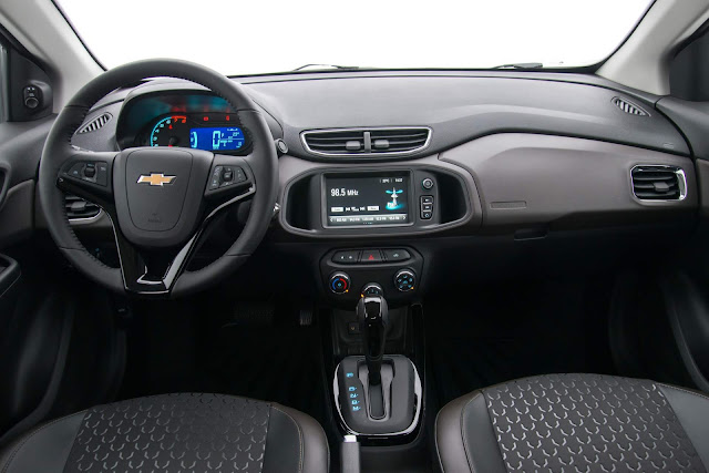 Novo Chevrolet Prisma 2018 - Interior