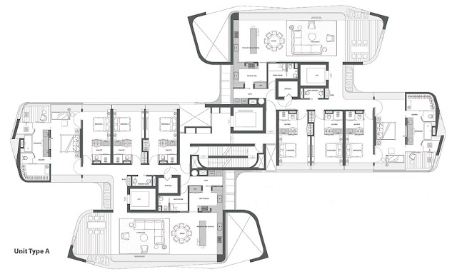 Ardmore Residence Floorplan