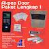Harga Paket Pintu Akses Otomatis (Door Access Control) Terbaru 2019