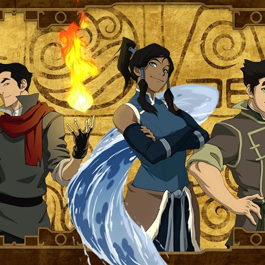 Avatar the legend of Korra - Animated Wallpaper Engine