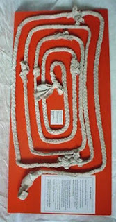 Rope used in escape from Boggo Road Gaol, Brisbane.