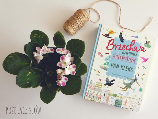 książka, kwiatek, sznurek, pan Kleks